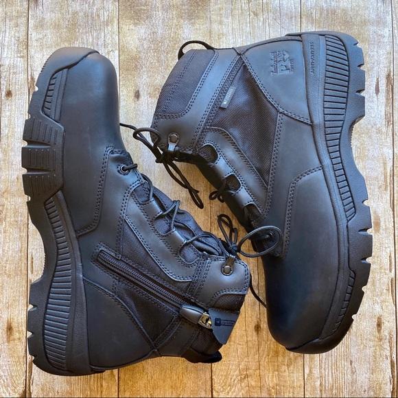 Adviento Hospitalidad graduado  Timberland Shoes   Pro Valor Duty 6 Soft Toe Sidezip   Poshmark